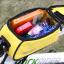 กระเป๋าคาดเฟรม ROSWHEEL ใส่มือถือสัมผัสได้ มีช่องออกหูฟัง BIKE290 สีเหลือง thumbnail 4
