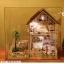 Large handmade diy hut Paris apartment house villa model(บ้านModelอพาร์ทเมนท์ในปารีส) thumbnail 3