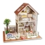 Large handmade diy hut Paris apartment house villa model(บ้านModelอพาร์ทเมนท์ในปารีส) thumbnail 2