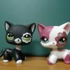 LPS-2291A Siamese cat 2 แบบ (หายากมาก)