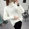 SUMIYA women sweater กันหนาว คุณภาพดี (สีขาว)