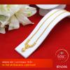 RTN596 สร้อยทอง สร้อยคอทองคำ สร้อยคอ 1 บาท ยาว 18 นิ้ว