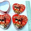 กล่องเหล็กหัวใจสีแดง 10 ชิ้น 150 บาท