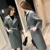 เสื้อโค้ท PASSM คุณภาพดี ผ้า Wool กันหนาว (สีเทา)