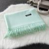 Imitation cashmere scarft ผ้าพันคอ (สีเขียว)