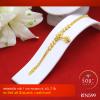 RTN599 สร้อยข้อมือ สร้อยข้อมือทอง สร้อยข้อมือทองคำ 1 บาท ยาว 6 6.5 7 นิ้ว