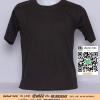 A.เสื้อเปล่า เสื้อยืดเปล่าคอกลม สีเทาดำ ไซค์ 10 ขนาด 20 นิ้ว (เสื้อเด็ก)