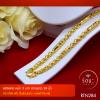RTN284 สร้อยทอง สร้อยคอทองคำ สร้อยคอ 3 บาท ยาว 24 นิ้ว