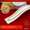 RTN416 สร้อยทอง สร้อยคอทองคำ สร้อยคอ 1 บาท ยาว 24 นิ้ว