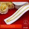 RTN420 สร้อยทอง สร้อยคอทองคำ สร้อยคอ 3 บาท ยาว 24 นิ้ว