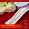 RTN151 สร้อยทอง สร้อยคอทองคำ สร้อยคอ 1 บาท ยาว 24 นิ้ว