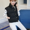 Women's winter vest jacket (Black)