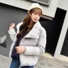 Korean women's winter jacket (White)