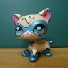 LPS-0555 Comic Mask Super Hero cat