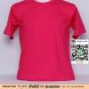 A.เสื้อเปล่า เสื้อยืดเปล่าคอกลม สีบานเย็น ไซค์ 10 ขนาด 20 นิ้ว (เสื้อเด็ก)