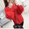 Loose lantarn sweater (สีแดง)
