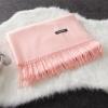 Imitation cashmere scarft ผ้าพันคอ (สีชมพู)