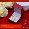 RTN366 แหวนทองคำ Channel