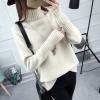 SUMIYA women sweater กันหนาว คุณภาพดี (สีครีม)