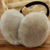 Furry Earmuffs ที่ปิดหูกันหนาว (สีเทาอ่อน)