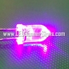 หลอดไฟ LED สีชมพู 5 ม.ม. (สอบถามราคาพิเศษ)