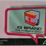 กระดาษสี IQ A4 80g สีชมพูเข้ม 500แผ่น
