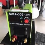เครื่องเชื่อม อินเวอร์เตอร์ JACK TOOLS MMA-300 แถมฟรี สายเชื่อม หน้ากาก ด้ามเคาะแปลงลวด