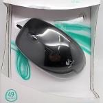 เม้าส์ Logitech M100r Optical Mouse สีดำ