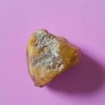 หินสีเหลือง อำพัน หินเก่า