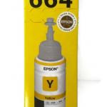 หมึกอิงค์เจ็ท EPSON T664400 Yellow (Bottle)