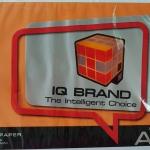 กระดาษสี IQ A4 80g สี Saffron 500แผ่น