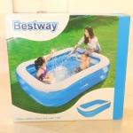 สระว่ายน้ำเป่าลมสำหรับเด็ก (แบบทรงสี่เหลี่ยมผืนผ้าและแบบทรงกลม)