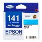 หมึกอิงค์เจ็ท EPSON 141 Cyan T141290