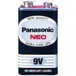 ถ่าน Panasonic 9V Neo สีดำ