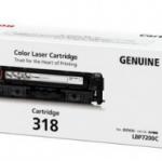 โทนเนอร์ Canon Cartridge-318BK