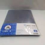 แผ่นใสพลาสติกทำปก ORCA 140 ไมครอน(แพ็ค 100 แผ่น)