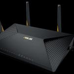 ASUS - AC828 AC2600 Dual-WAN VPN Wi-Fi Router
