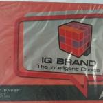 กระดาษสี IQ A4 80g สี Red 500แผ่น
