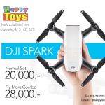 DJI SPARK เซลฟี่โดรนใช้มือบังคับขนาดเล็ก ถ่ายรูปคมชัดทุกสถานการณ์