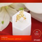 RTN682 แหวนใบมะกอก