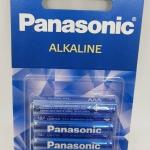 ถ่าน Panasonic AAA อัลคาไลน์ แพ็คละ4ก้อน