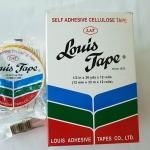 เทปใส Louis 1/2นิ้วx36หลา แกน3นิ้ว