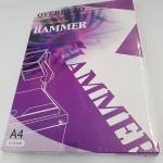 แผ่นใส HAMMER สำหรับเขียน A4 0.1มม.