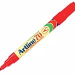 ปากกาเคมี Artline EK-70 สีแดง
