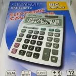 เครื่องคิดเลข Citycal DM-1200TV 12หลัก