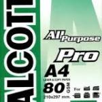 กระดาษถ่ายเอกสาร ALCOTT A4 80g Pro เขียว