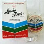 เทปใส Louis 3/4นิ้วx36หลา แกน3นิ้ว