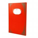 สมุดมุมมัน ช้าง HC-5/100 สีแดง 100แผ่น70g 215x330มม. แพ็คละ6เล่ม