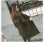 เสื้อโค้ท PASSM คุณภาพดี ผ้า Wool กันหนาว (สีเขียวกากี) thumbnail 2