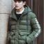 เสื้อกันหนาว Trendy cotton winter jacket 2nd Edition (สีเขียว) thumbnail 2
